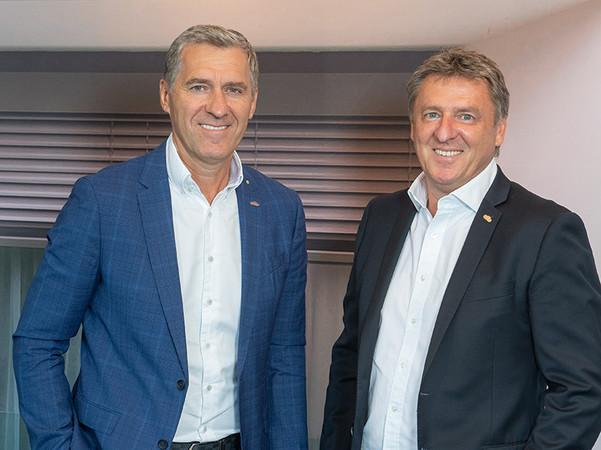 Die Geschäftsführer Christian (links) und Andreas Klotzner freuen sich auf die anstehenden Projekte. Foto: © Valetta