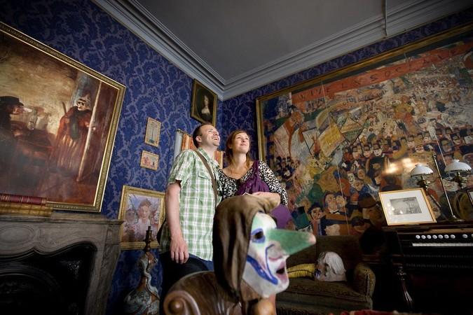 Ensors Kunst ist heute weltweit in allen berühmten Museen zu finden. Foto: © VisitFlandern.com