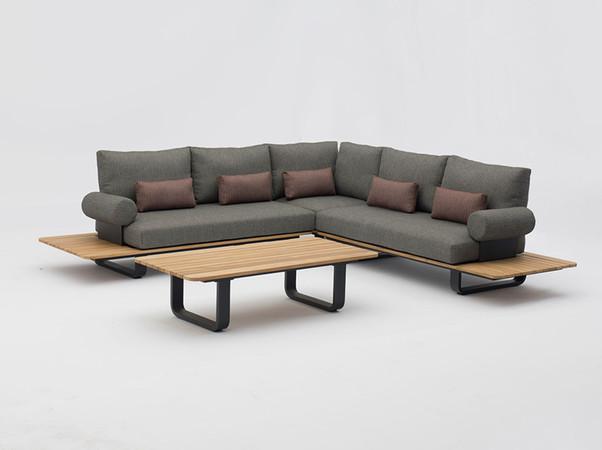 Die neue Park Lounge zaubert exklusiven Wohnkomfort in jeden Outdoorbereich. Foto: © Zebra