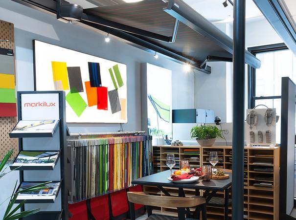 Das Unternehmen erhofft sich, von hier aus seine Marke bei Fach- und Endkunden bekannt zu machen. Foto: © Markilux