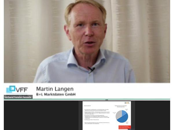 Mit einem Impulsvortrag zur möglichen Kapazitätsdeckung der Branche bei erhöhter Sanierungsrate gab Martin Langen Impulse für die Diskussion. Foto: © VFF