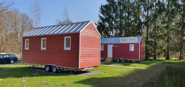 Tiny Houses haben kein Fundament und sind so sehr flexibel. Foto: © Tiny House Diekmann/iStock.com