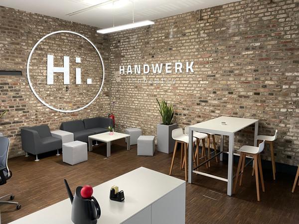 Das Büro von Handwerk innovativ befindet sich im Kölner Stadtteil Mülheim. Foto: © Handwerk innovativ/Valery Kloubert
