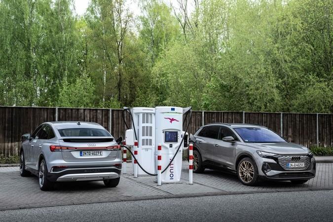 Audi bietet seinen Stromer in zwei Karosserievarianten an. Foto: © Audi