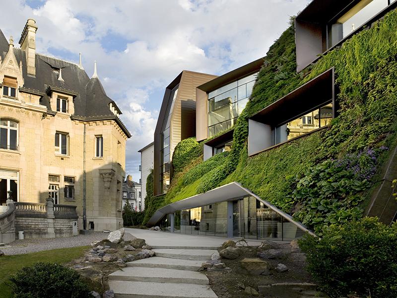 Chambre de commerce et d'industrie Amiens-Picardie von Chartier Corbasson Architectes, Frankreich, 2012. Foto: © Chartier + Corbasson