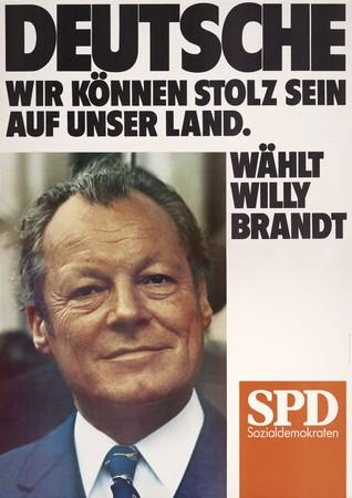 Die Wahlplakate zeigen beginnend in den 50er Jahren den Wandel der Gesellschaft und den jeweiligen Zeitgeist. Foto: © Stiftung Haus der Geschichte/ Axel Thünker