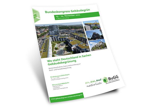 Bundeskongress Gebäudegrün – in Präsenz in Berlin oder Online von zu Hause. Foto: © Bundesverband GebäudeGrün