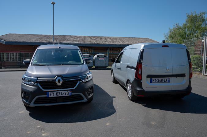 Neu bei Renault: Express und Kangoo 2021 Foto: © Martin Bärtges