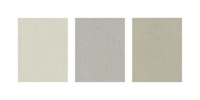 Recycelte, moderne Textur, die den Beton-Look beim Fenster schafft Foto: © Salamander Industrie-Produkte GmbH