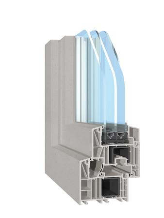 Greta® in Lichtgrau auf dem System bluEvolution. Foto: © Salamander Industrie-Produkte GmbH