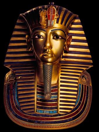 Die elf Kilo schwere Goldmaske Pharaos gehörte zu den bedeutendsten Schätzen der Grabkammer. Foto: © A.-M. v. Sarosdy/Semmel Concerts Entertainment