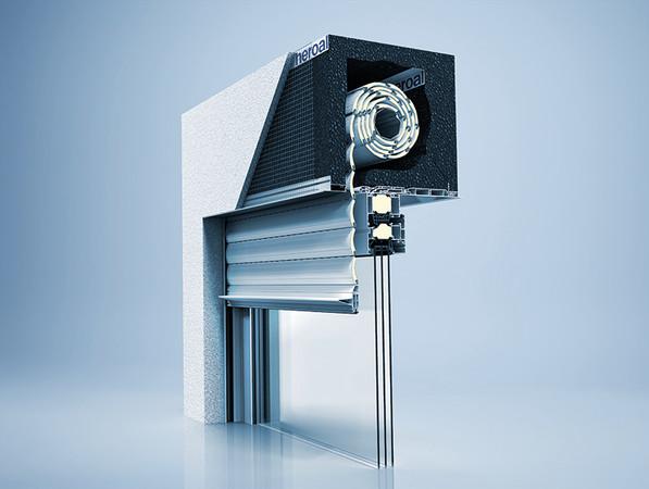 Das Dämmkastensystem in den Varianten Innen- und Außenrevision wurde um zahlreiche Ausführungsvarianten erweitert. Foto: © heroal