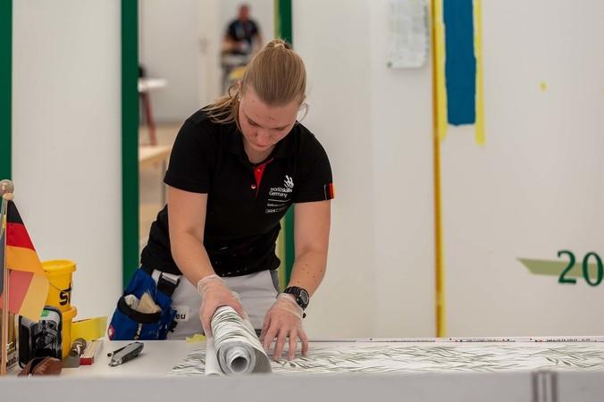 Malerin und Lackiererin Jacqueline Kuhn Foto: © WorldSkills Germany/Frank Erpinar