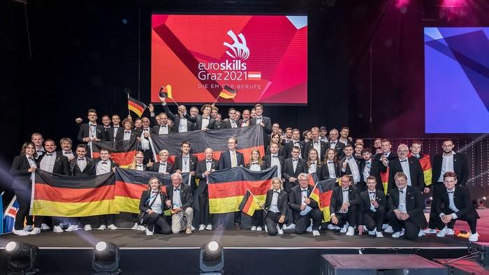 Das Team von WorldSkills Germany Foto: © WorldSkills Germany/Frank Erpinar