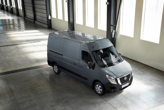 Die neue Transporter-Modellreihe von Nissan, hier der Interstar Foto: © Nissan