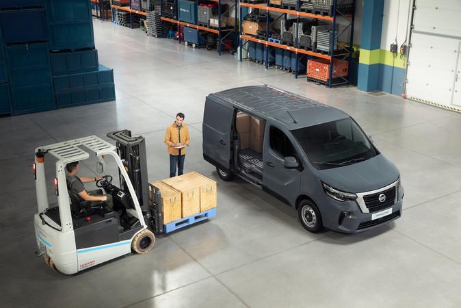Die neue Transporter-Modellreihe von Nissan, hier der Primastar Foto: © Nissan