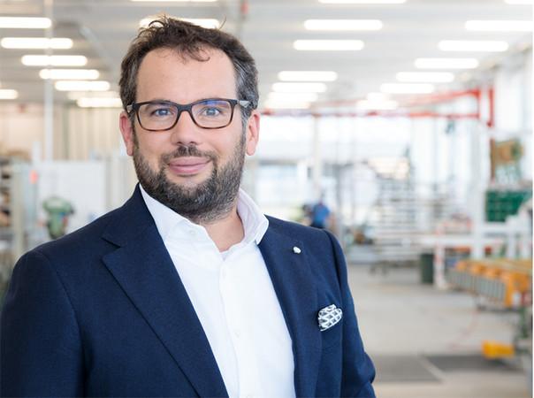 Florian Oberrauch ist Vize-Präsident im Finstral-Verwaltungsrat und verantwortlich für Produktion und Logistik. Foto: © Finstral