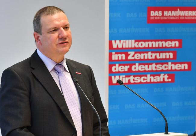 Roland Ermer Foto: © Sächsischer Handwerkstag/Wolfgang Schmidt